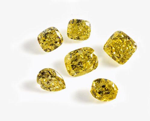 Fancy Coloured Diamonds Image