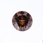 0.6 ct Brown Round Diamond