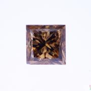 3.02 ct Brown Princess Cut Diamond