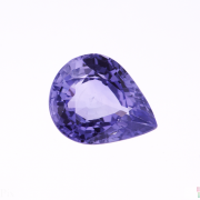 2.73 ct Violet Pear Sapphire