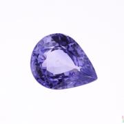 2.73 ct Violet Pear Shape Sapphire