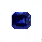 1.25 ct Blue Octagon Sapphire
