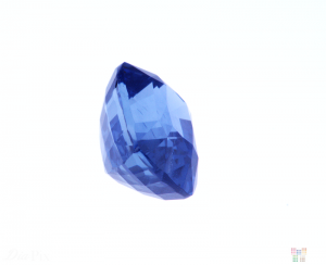 1.90 ct Blue Cushion Sapphire
