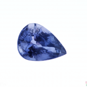 2.25 ct Pear Violetish Blue Sapphire