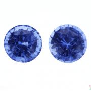 4.42 ct Round Blue Sapphire