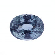 2.95 ct Greenish Blue Oval Sapphire