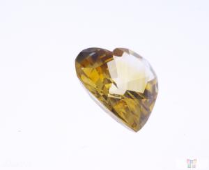 7.87 ct Yellow Heart Sapphire